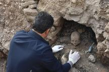گورستان کشف شده در بافق 200 سال قدمت دارد