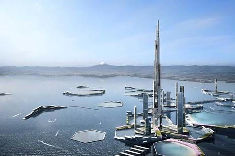 بلندترین آسمان خراش دنیا به ارزش یک میلیارد دلار در دبی ساخته می شود!