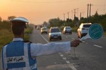 پلیس گیلان از حمل مسافر در قسمت بار خودروها جلوگیری می کند