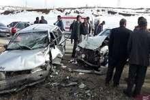 حادثه رانندگی خلخال پنج نفر مصدوم برجای گذاشت