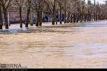 جاری شدن سیل در استان کرمان+ عکس