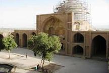 مسجد جامع ساوه نگین معماری تاریخی ایران