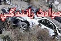 تصادف در مسیر زاهدان - خاش 4 کشته برجا گذاشت