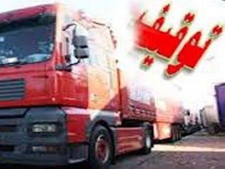 2 دستگاه تریلر حامل کود مرغ غیرمجاز در شهرستان طبس توقیف شدند