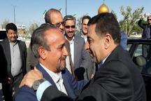 وزیر دادگستری به منظور شرکت در آیین هفته دولت وارد استان سمنان شد