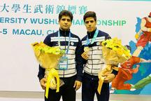 ووشوکاران سیستان و بلوچستان 134 مدال کشوری و جهانی کسب کردند