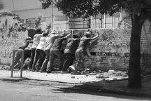تخریب دیوار قدیمی باغ سپهسالار در تنکابن خلاف قانون است
