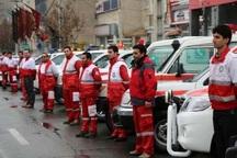 هلال احمر اردبیل به زوار آذری اربعین خدمات می دهد