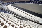 ۷۰ درصد از بازسازی ورزشگاه نساجی انجام شد