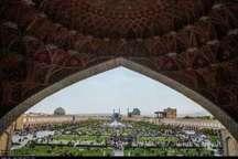 نیم میلیون گردشگر خارجی از بناهای تاریخی اصفهان بازدید کردند
