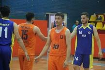 تیم بسکتبال سه نفره قزوین عملکرد خوبی در مسابقات کشوری داشت