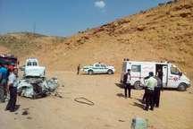 واژگونی 2 خودرو در چهارمحال وبختیاری یک کشته و 5 مصدوم داشت