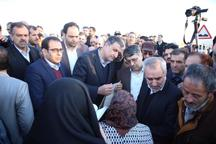 وزیر راه برای پیگیری مطالبات مالکان 58 متری اراک قول مساعد داد