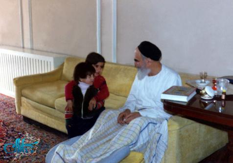 درخواست کودک از امام چه بود؟