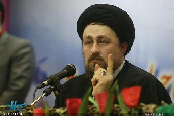 سخنرانی سید حسن خمینی در جمع  پیشکسوتان جهاد و شهادت