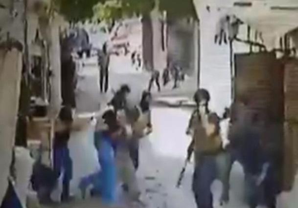 فیلم/ لحظه بازداشت یکی از سرکرده های داعش توسط نیروهای امنیتی