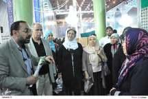 ادای احترام گروهی از زائران کشور ترکیه به مقام امام راحل