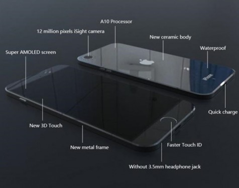 جی پلاس: آیفون ۷ و تغییرات عمده در رندر جدید + تصویر