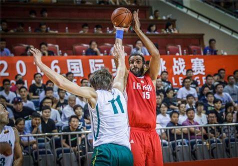 شکست تیم ملی بسکتبال ایران مقابل لتونی