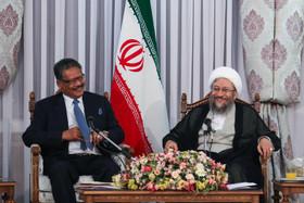 دستگاه قضایی ایران مترقی، مدرن و منطبق با قوانین اسلامی است