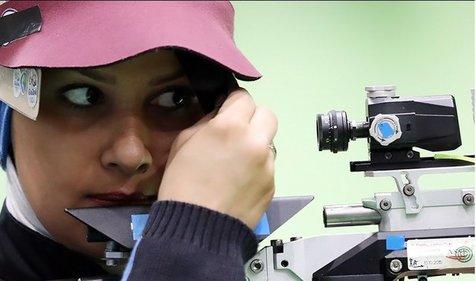 انصراف الهه احمدی در آستانه مسابقات تیراندازی قهرمانی آسیا
