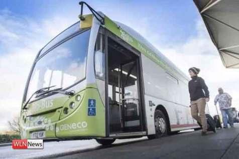 اتوبوسی با سوختی متفاوت
