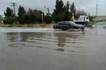 آبگرفتگی گسترده معابر شهری تبریز با بارش باران  تندباد شدید در راه است