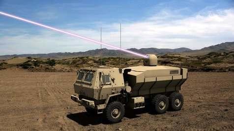 خودروهای مجهز به لیزر در ارتش آمریکا