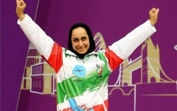 ساره جوانمردی مدال طلای تیراندازی بازی های پاراآسیا را برد