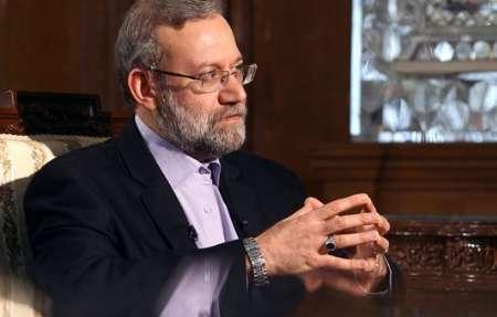 لاریجانی خواهان موضع یکپارچه مجالس کشورهای اسلامی علیه رژیم صهیونیستی شد