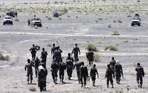 شهادت سه تن از پاسداران در مرز سراوان