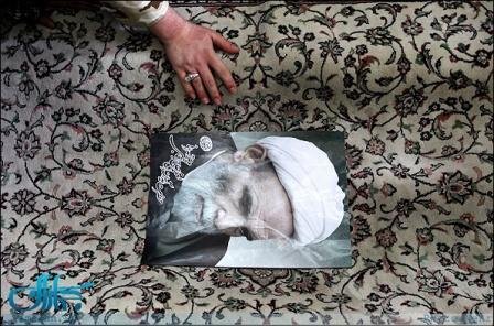 گزارش اختصاصی جماران از مراسم تدفین آیت الله تهرانی در حرم حضرت عبدالعظیم(ع)