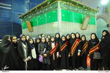 بازدید جمعی از دانش آموزان شاهد از حرم مطهر امام خمینی(س)