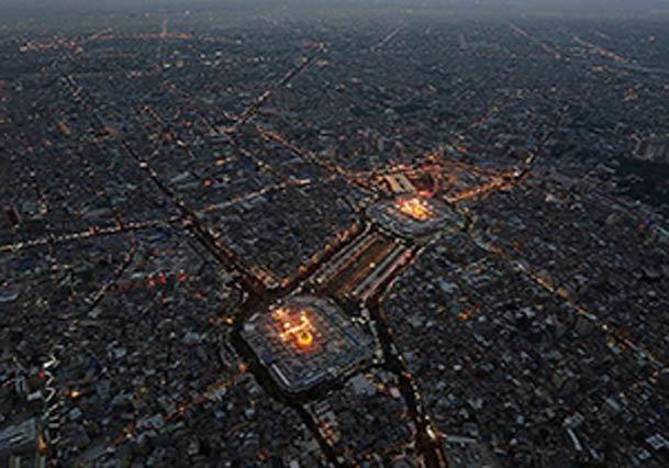 فیلم / عراق در آستانه اربعین حسینی