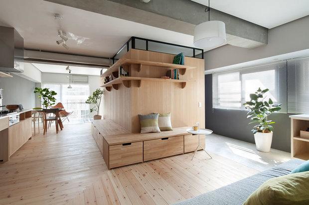 نوسازی زیبای یک آپارتمان ۲۶ ساله