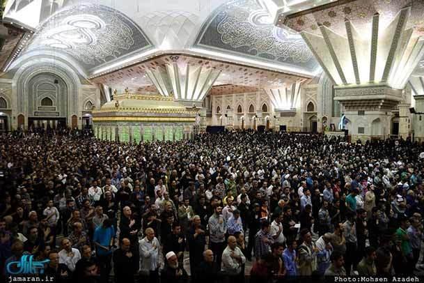 فیلم /  مراسم احیای شب بیست و سوم ماه رمضان در حرم مطهر امام خمینی (س)