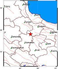 زلزله در طالقان تهران