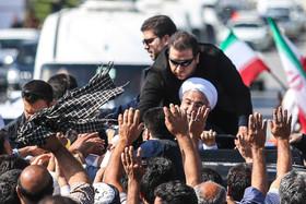 حاشیه های اولین ساعات حضور رییس جمهور در استان لرستان