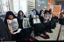 مراسم چهلم شهدای جنایت تروریستی اهواز برگزار شد + تصاویر