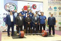 ایران قهرمان مسابقات بین المللی وزنه برداری جام فجر شد