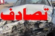 تصادف 2 دستگاه سواری در محور بجنورد- شیروان 2 مجروح داشت