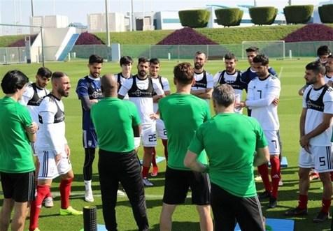برنامه تمرین امروز تیم ملی فوتبال اعلام شد