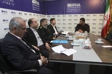 میزگرد راهکارهای کاهش حوادث رانندگی در ایرنا سمنان برگزار شد