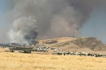 آتش عرصه های منابع طبیعی شرق گلستان مهار شد