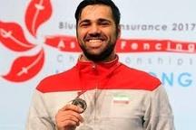 کسب مقام نایب قهرمانی آسیا توسط شمشیرباز گیلانی