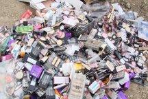 9 میلیارد ریال مواد آرایشی غیربهداشتی کشف شد
