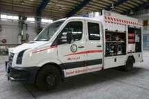 پایگاه های امداد هلال احمر کردستان به خودرو ست نجات نیاز دارند