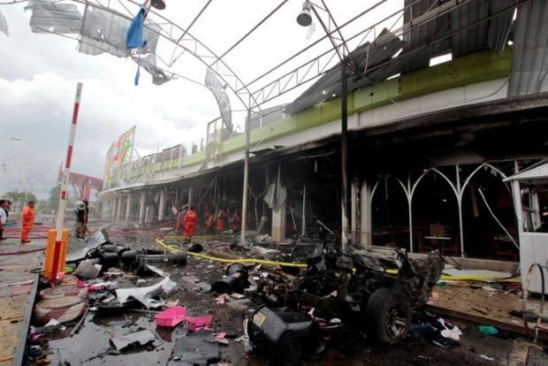 انفجار در جنوب تایلند ۴۲ زخمی برجای گذاشت+تصاویر