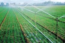 تجهیز بیش از 2 ونیم هکتار زمین به شبکه آبیاری نوین طی سالجاری