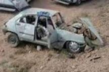 خروج سواری پی کی از جاده در ایلام یک کشته برجای گذاشت